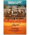"""Flashpoint - 27"""" x 40"""" - Ancienne affiche vidéo américaine"""