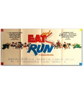 "Eat and Run - 36"" x 16"""