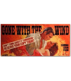 "Gone With the Wind - 32"" x 15"""