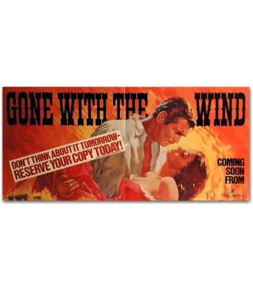 """Gone With the Wind - 32"""" x 15"""""""