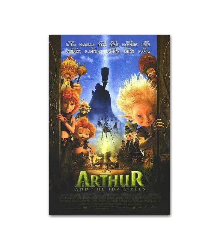 Arthur And The Invisibles 27 X 40 Us Poster Cinema Passion