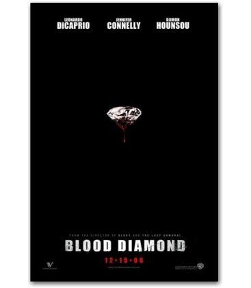 """Blood Diamond - 27"""" x 40"""""""