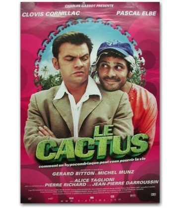 """Le Cactus - 27"""" x 40"""""""