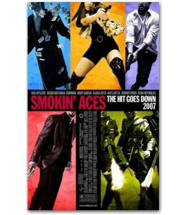 """Smokin' Aces - 27"""" x 40"""""""