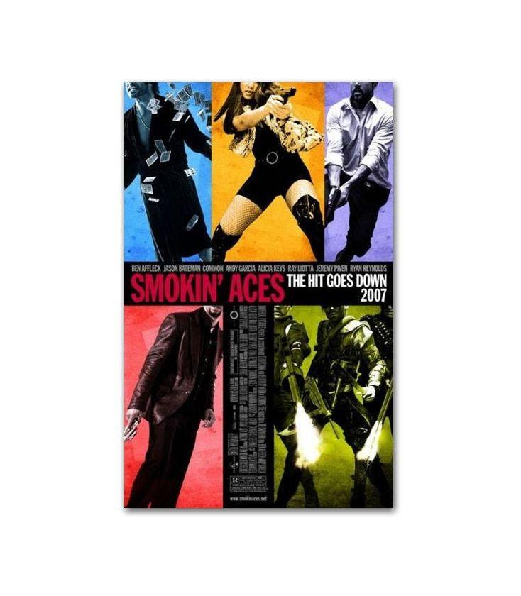 Smokin Aces 27 X 40 Original Canadian Movie Poster Cinema Passion