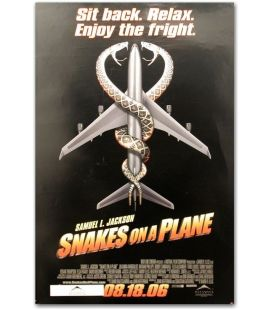 "Snakes on a Plane - 27"" x 40"""