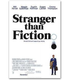 """Plus étrange que fiction - 27"""" x 40"""""""