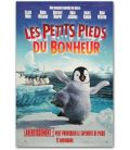 """Happy Feet - 27"""" x 40"""" - Advance French Canadian Poster"""