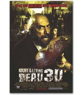 "Night of the Living Dead 3D - 27"" x 40"""
