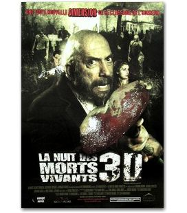 "La Nuit des morts vivants 3D - 27"" x 40"""