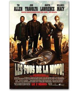 """Les Fous de la moto - 27"""" x 40"""""""