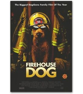 "Firehouse Dog - 27"" x 40"""