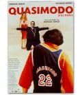 """Quasimodo d'El Paris - 16"""" x 21"""" - Small Original French Movie Poster"""