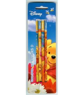 Winnie the Pooh - Pack with 4 Pencils