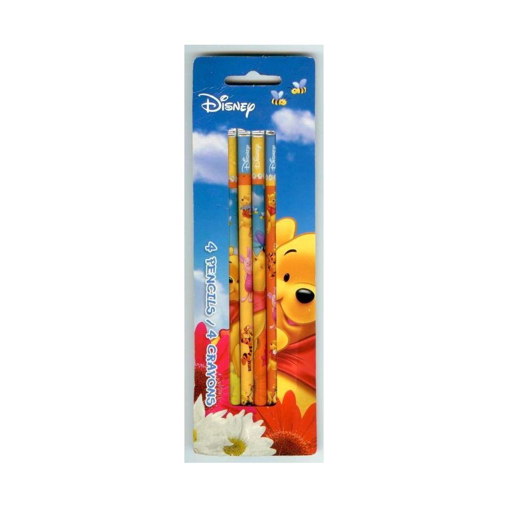 Winnie l 39 ourson ensemble de 4 crayons cin ma passion for Papeterie drummondville