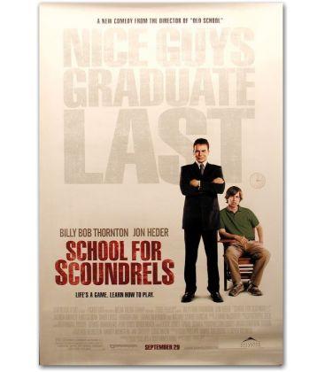 """School for Scoundrels - 27"""" x 40"""""""