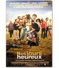 """Nos jours heureux - 27"""" x 40"""" - Affiche québécoise"""