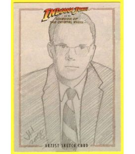 Indiana Jones and the Kingdom of the Crystal Skull - Trading Cards - Sketch Card