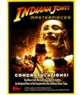 Indiana Jones : Masterpieces - Chase Card - Sketch