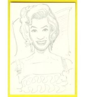Marilyn Monroe - Cartes de collection - Sketch Card de Paul Shipper