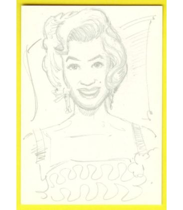 Marilyn Monroe - Chase Card - Sketch