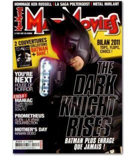 Mad Movies Magazine N°248 - January 2012 issue with Batman The Dark Knight Rises