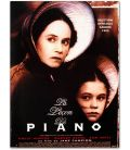 "The Piano - 16"" x 21"" - Original French Movie Poster"