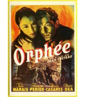 Orphée - Postcard
