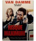 "Maximum Risk - 16"" x 21"" - Small Original French Movie Poster"