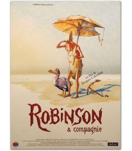 "Robinson & compagnie - 16"" x 21"""