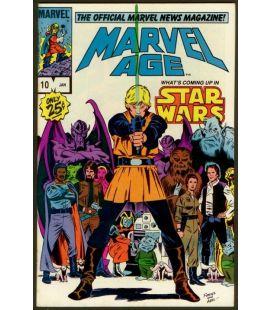 Marvel Age Magazine - January 1984