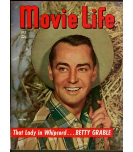 Movie Life Magazine - July 1948 - American Magazine with Alan Ladd