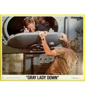 "Gray Lady Down - Photo 10"" x 8"" number 3 with Charlton Heston"