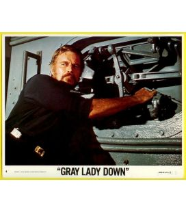 "Gray Lady Down - Photo 10"" x 8"" number 4 with Charlton Heston"