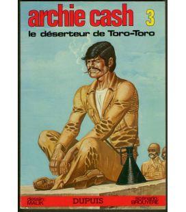 Archie Cash N°3 - Le Déserteur de Toro-Toro - Comic Book