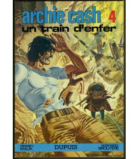 Archie Cash N°4 - Un train d'enfer - Bande dessinée