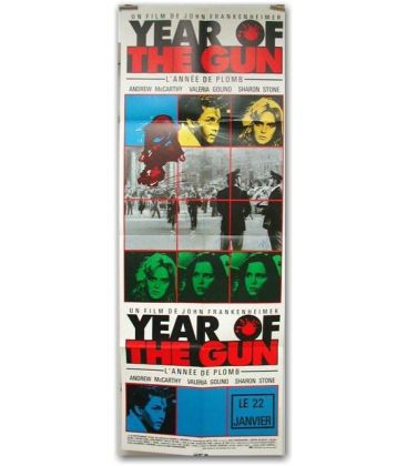 "Year of the gun - 24"" x 63"""