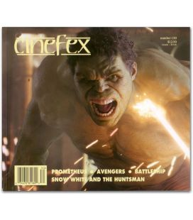 Cinefex N°130 Magazine - July 2012