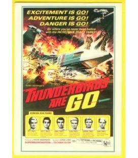 Thunderbirds are Go - Postcard