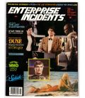 Enterprise Incidents Magazine N°18 - Vintage June 1984 issue with Daryl Hannah