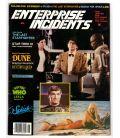Enterprise Incidents N°18 - Juin 1984 - Ancien magazine américain avec Splash