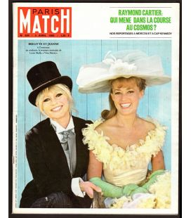 Paris Match N°834 - 3 avril 1965 - Magazine français