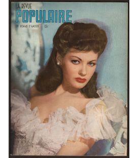 La Revue Populaire - Octobre 1945 - Magazine québécois