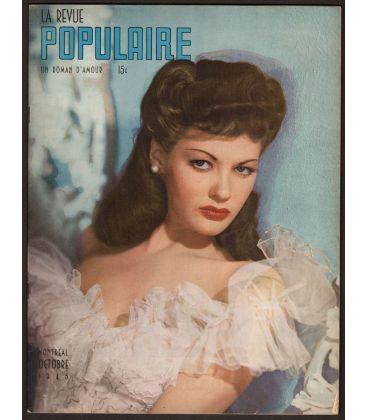 La Revue Populaire Magazine - October 1945