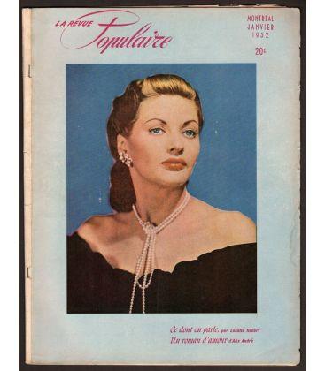 La Revue Populaire Magazine - January 1952