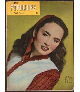La Revue Populaire - Janvier 1952 - Magazine québécois