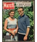 Paris Match Magazine N°484 - Vintage July 19, 1958 issue with Ingrid Bergman
