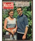 Paris Match N°484 - 19 juillet 1958 - Ancien magazine français avec Ingrid Bergman