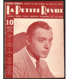 La Petite Revue Magazine - October 1941 with Charles Boyer