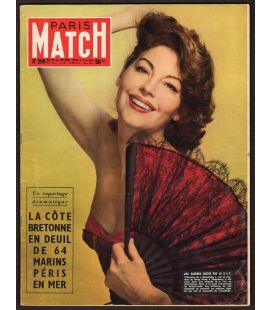 Paris Match Magazine N°299 - December 18, 1954 with Ava Gardner